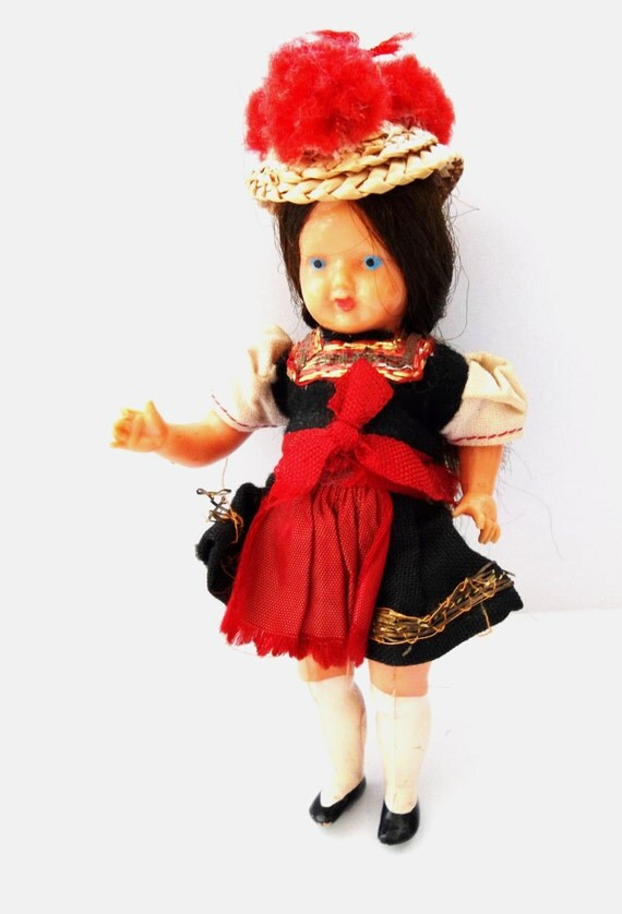 Items Similar To German Black Forest Doll