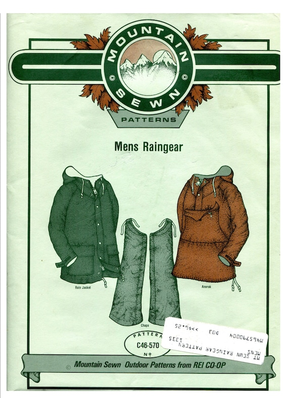 Mens Outdoor Clothing Patterns