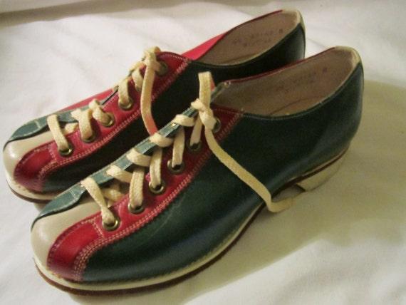 vintage Brunswick bowling shoes hipster retro Women's