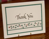 Thank You - Calligraphed Cards - Package of 8