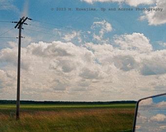 Across the Indiana Sky - 8x10 fine art photograph