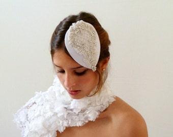 Sale Wedding Hat Bridal Hat rhinestone crystal swarovski hat lace Embellishment wedding Hair accessories,Wedding hat Fascinator headpiece