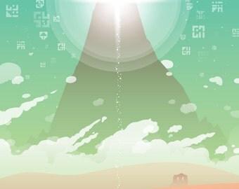 Journey Poster (Desert Version)