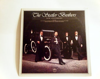 The Statler Brothers - 10th Anniversary LP (US - 1980)