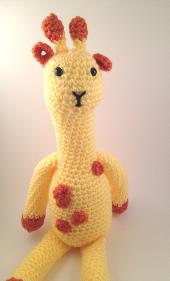 Amigurumi Giraffe : Crochet Amigurumi Giraffe
