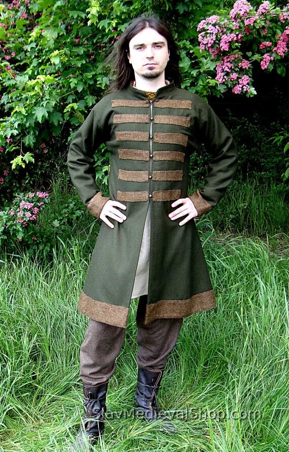Early Medieval Scandinavian coat Viking coat form Birka