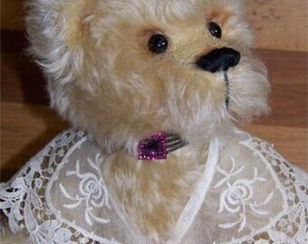 Evangelina-OOAK Mohair Sudey Babe Teddy Bear