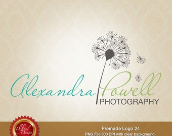 Premade Logo and Watermark, custom business logo - pml-24