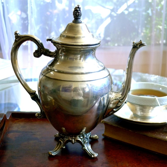 Wm Rogers Eagle And Star Silverplate Teapot By Artifind On