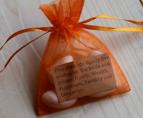WEDDING JORDAN ALMOND Favor Bags
