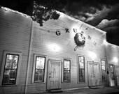 Gruene Hall in Gruene, Texas (Black & White Matte Print)
