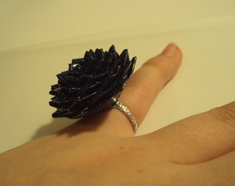 How To Make A Duct Tape Flower Rose Ring Tutorial