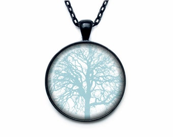 Forest pendant Forest necklace Forest jewelry nature necklace
