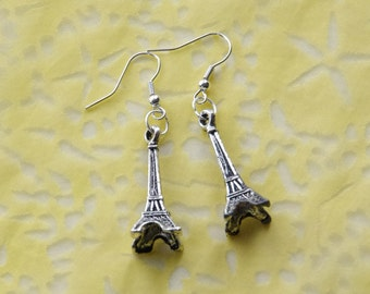 Eiffel Tower Earrings, Mother's Day Gift, Mothers Day from Daughter, French Earrings, Travel Earrings, Grad Gift, Graduation Gift ideas