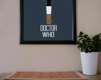 Doctor Who / Sonic Screwdriver (11) / Poster