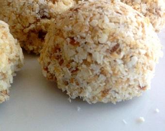 Organic Toasted Coconut Macaroons Raw Vegan Paleo