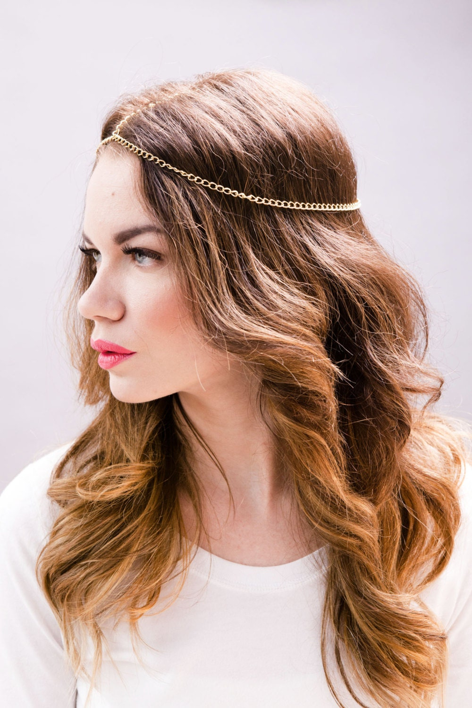 Etsy Chain Headpiece Headpiece Head Chain