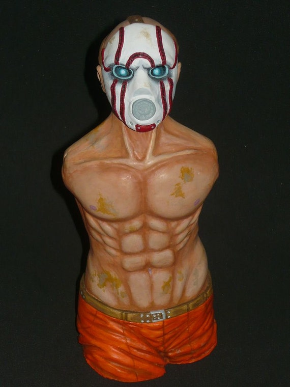 Borderlands - Psycho Bandit Sculpture