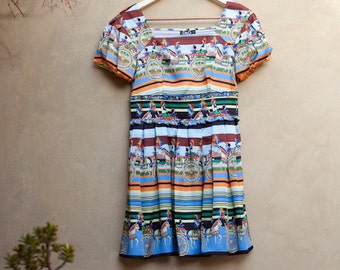 Empire Dress Puff sleeve