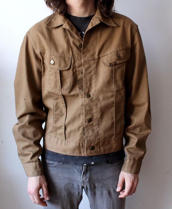 Brown Lee Riders Denim Jacket by SturdySure on Etsy