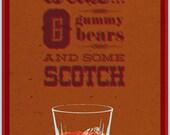 Scotch / Archer / Quote Poster / Danger Zone