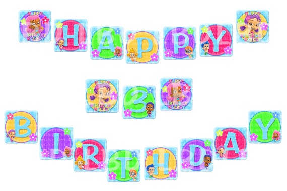 Similiar Bubble Guppies Birthday Party Banner Keywords