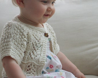 Ailey baby bolero knitting pattern Download