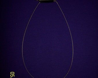 Necklace: Express with Triple Circular Pendent with Rhinestones #114