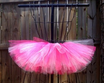 Cailey Tutu - Pink Tutu - Birthday/ Dance Tutu - Available in Infant, Toddlers, Girls, Teenager and Adult Sizes