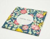 "24 Thank You Stickers 1.5"" White Round, Envelope Seals, Invitation Labels, Wedding Stickers"