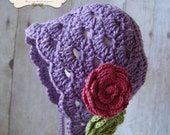PDF Crochet Pattern - Penelope Bonnet - Permission to sell finished items