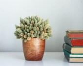 modern farmhouse - dried flower arrangement