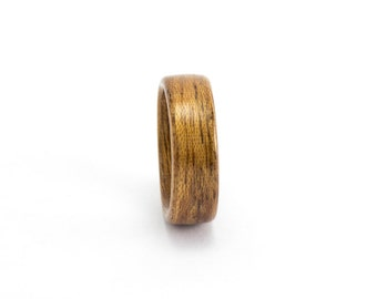 Mahogany Wood Ring, Wooden Wedding Ring, Bentwood Ring, Wooden Ring, Wood Wedding Band, Wood Ring, Wood Wedding Ring, Bentwood Band Man Ring