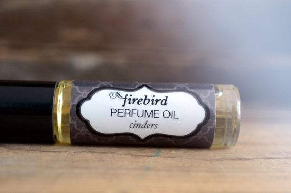 Cinders Perfume Oil, Woodsmoke, Burning Leaves, Beeswax