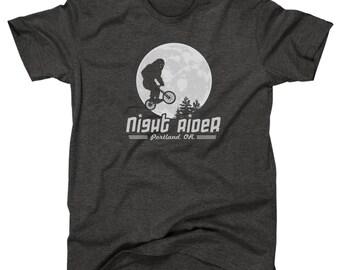 Night Rider Portland : Bigfoot / Sasquatch T-Shirt