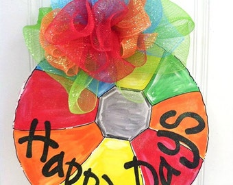Beach Ball Door Hanger - Bronwyn Hanahan Art