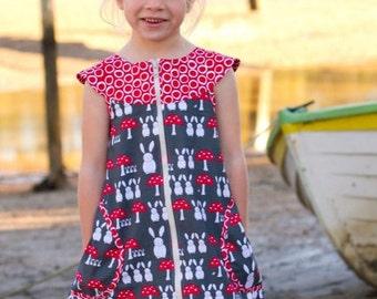 Zip-It Girls Dress Pattern
