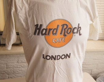 vintage (t shirt) HARD RoCK CAFE LoNDON Original 80s (41 inches around chest)