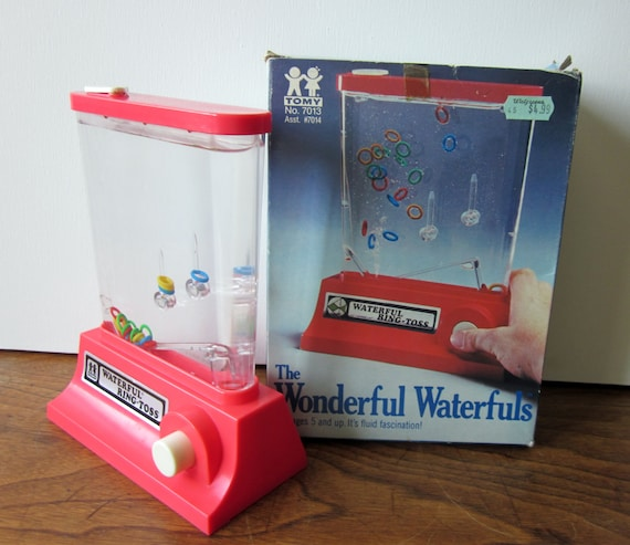 Tomy Wonderful Waterfuls Ring Toss Water Game with Box