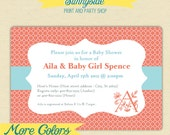 Baby / Bridal Shower Invitation -- You Choose Colors - Printable Shower Invite