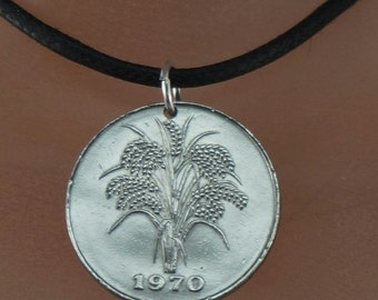 Dong Jewelry - Vietnam  necklace - mens jewelry -  VIETNAM COIN jewelry - vietnamese coin necklace - mens necklace -  gag gift  No.001762