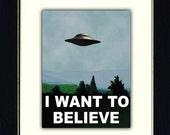X Files Mini Poster