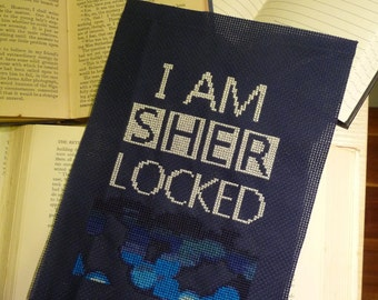 Sherlocked Cross Stitch PDF Digital Pattern - Sherlock Holmes