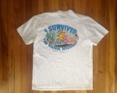 Hasegawa General Store Maui Hawaii Vintage Surf Tee Shirt Large