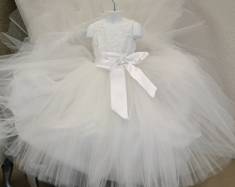 Flower Girl Dress, First Communion Dress, Birthday Dress, Easter Dress, Girls Couture Dress, Girls Graduation Dress, Girls Party Dress