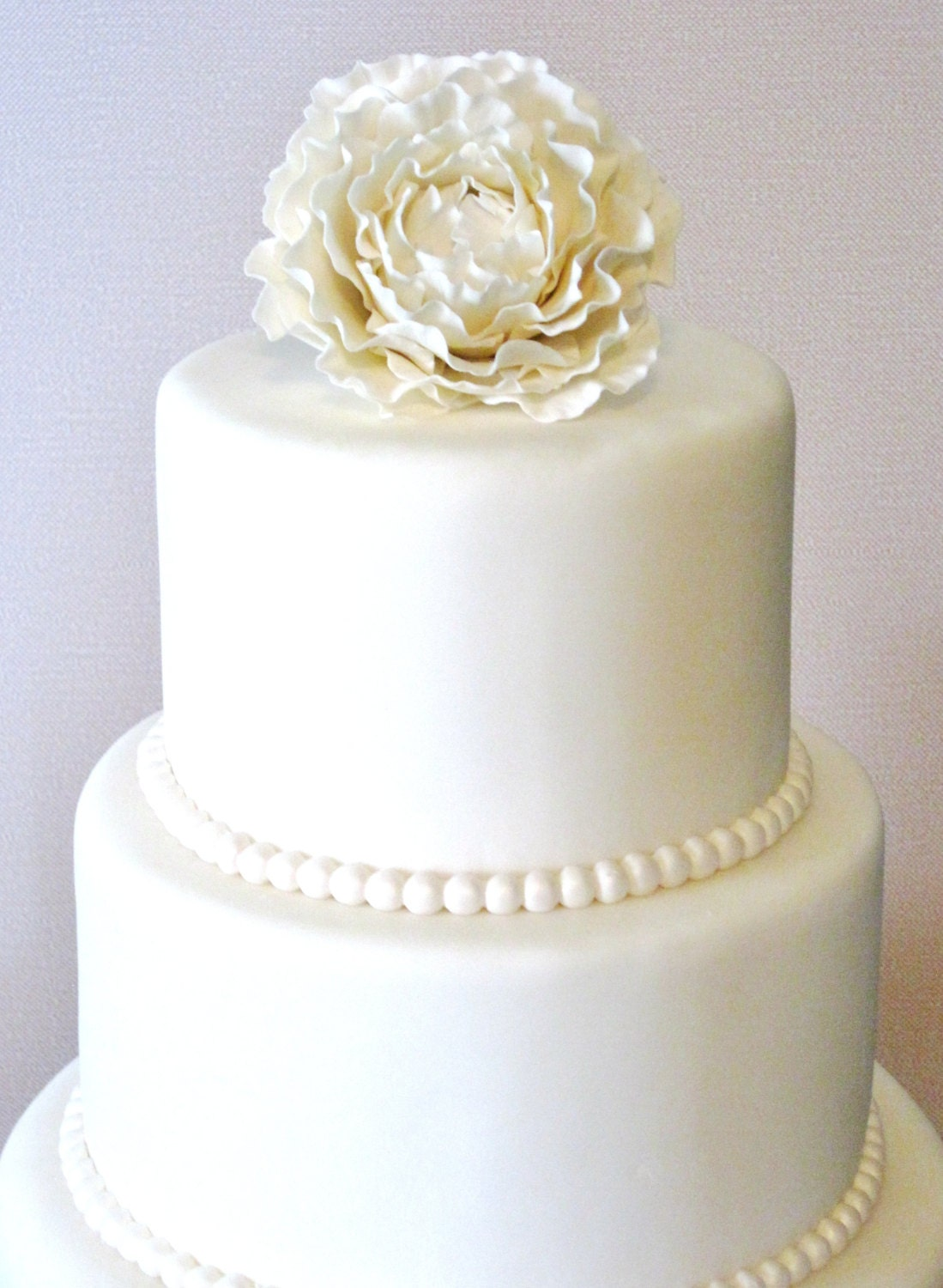 how do you make a fake wedding cake three tier fondant wedding cake wedding cake faux 15389