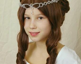 Cinderella - little princess wig - Aschenbrödel Perücke - also suitable for wedding, ball, victorian, renaissance, medieval or party costume
