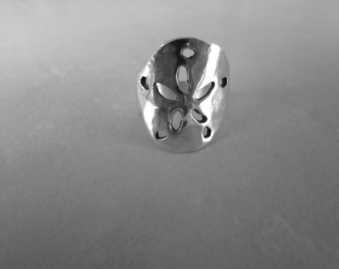 sandollar ring quarter size