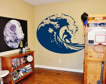 """SURFER Wall Decal 53"""" x 72"""""""