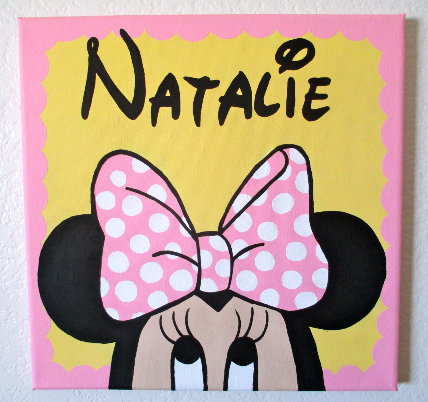 Stuff To Paint On A Canvas Disney